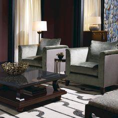 Baker Furniture / Tufenkian Carpets - Chant Black by Laura Kirar: https://www.tufenkiancarpets.com/p-14410-chant-black.aspx