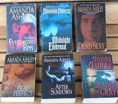 6 Parmanormal Vampire Books Amanda Ashley Dead Perfect Shades of Gray and More $3.50 plus shipping