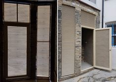Combining security, ventilation & air flow, our louvre doorsets are manufactured in our UK factory to the highest standard of finish for plant rooms, engine/boiler rooms, bin stores & substations. Plant Rooms, Room With Plants, Louvre Doors, Bin Store, Steel Security Doors, Slim, London, Design, Home Decor