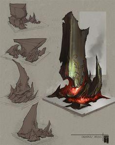 DemonicRocks by *ArtofTy on deviantART