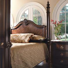 Bernhardt James Island Bed #bedroom