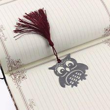 Edelstahl Buchzeichen Bookmark Owl Lesezeichen Hochzeit Geburtstag