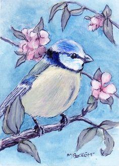 Blue Tit, Sculpting, Original Paintings, Wildlife, Bird, The Originals, Creative, Artwork, Animals