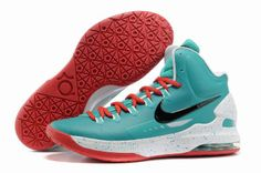 Nike Zoom KD V 5 ID Mint Green Red White 554988 361 Kevin Durant Shoes 2012