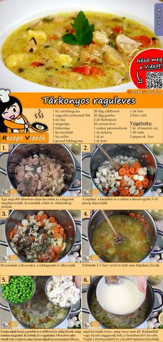 Estragon-Ragout-Suppe Enjoy these top-rated grilled fish recipes outdoors this summer. Recipes include gingered honey salmon, tilapia piccata and even grilled fish tacos. Easy Soup Recipes, Cooking Recipes, Healthy Recipes, Do It Yourself Food, Grilled Fish Recipes, Foil Pack Meals, Good Food, Yummy Food, Hungarian Recipes