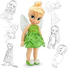 Disney Store adds Tinker Bell to Disney Animator's Collection!