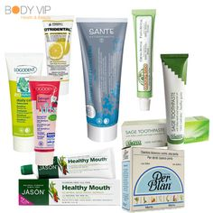 Descubre tu pasta de dientes ideal en http://www.body-vip.com/367-cuidado-e-higiene-dental (cosmética natural).