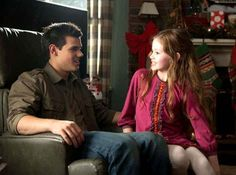 Jacob and Renesmee - The Twilight Saga Breaking Dawn Part 2.  In theaters in November 2012.