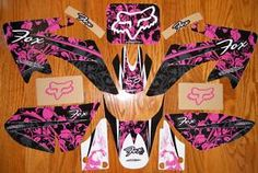 honda crf 230 pink fox decals-I might need these if I get a dirt bike