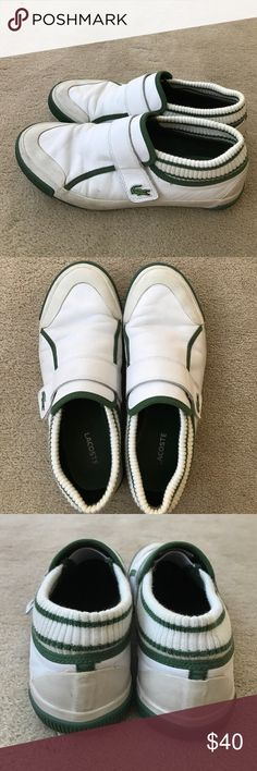 Lacoste Leather Loafers Lacoste Leather Loafers with Velcro Strap Lacoste Shoes Flats & Loafers