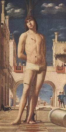 ANTONELLO da Messina St Sebastian
