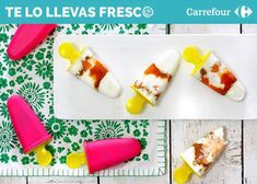 Cómo hacer helados cremosos 100% fruta | Recetas El Comidista EL PAÍS Fresco, Sour Cream, Plastic Cutting Board, Yogurt, Coconut Milk, Lolly Cake, Cooking Recipes, Fresh Fruit, Healthy Ice Cream