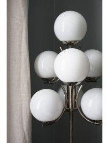 Vintage by Mouche 70s Chrome Floor Lamp - Furniture - Mouche