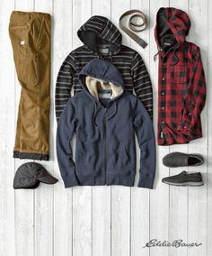 The greatest gear to keep him warm when the temperature drops.