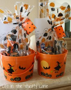 Thrifty Halloween Neighbor Treats to Deliver
