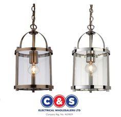Firstlight Imperial Lantern Pendant Chrome Or Antique Brass