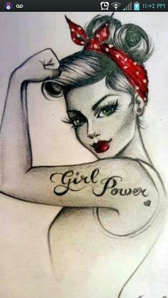 Girl Power! :: Pin Up Girls:: Words to live by