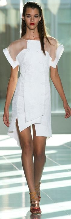 Antonio Berardi at LFW Spring 2014