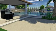 Pools and Landscape Design from Custom Homes Designed by I PLAN, LLC ...