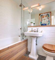Hausmodelle Dekorative Badezimmer Boden Fliesen - Badezimmer