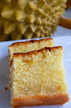 Durian Butter Cake | Filipino Desserts