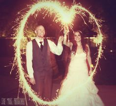 Sparklers! (If allowed outdoors in California?)