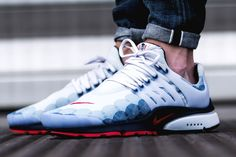 Its beautiful design will capture the attention of strangers wherever you go. Say hello to the Air Presto GPX 'USA' || Follow @filetlondon for more street wear #filetlondon