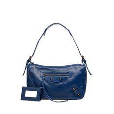 Balenciaga Classic Getaway Bleu Mineral - Women's New Arrivals  #Balenciaga #handbags    www.balenciaga.com