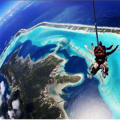 Sky diving!