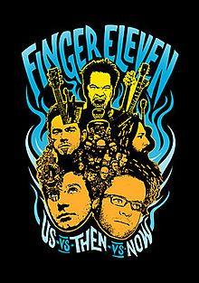 "Finger Eleven - ""Us-vs-Then-vs-Now"" ('07)"