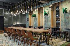 Café L'étage in Kiev, Ukraine. on Behance