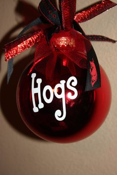hog ornament