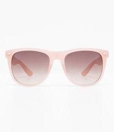 e0f16560a Óculos de sol feminino Modelo quadrado Hastes em acetato Lentes fumê  Proteção contra raios UVA /