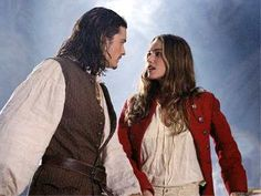 Will Turner and Elizabeth Swann, POTC.