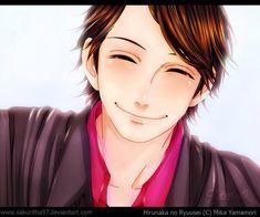 Shishio-sensei by on DeviantArt Daytime Shooting Star, Shooting Stars, Hirunaka No Ryuusei, Manga, Shoujo, Smile, Deviantart, Sleeve, Falling Stars