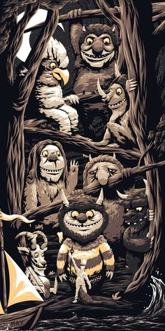 Where The Wild Things Are - ''Let The Wild Rumpus Start!'' - Florey ----
