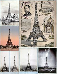 Paris, Eiffel collage! free images for You!