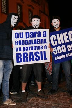 Revolution! Brazil today!!!!