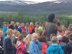 Students from their school (called: Grane barne- og ungdomsskole) got some school activity 11st June, (Monday) 📸 Facebook page of their school