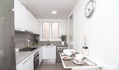 #proyectosantalo #iloftyou #interiordesign #ikea #barcelona #lowcost #kitchen #franklin #norberg