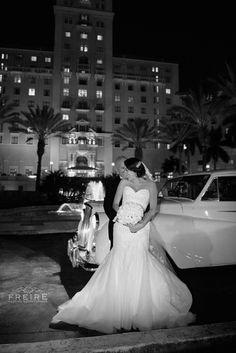 Miami Wedding * Mayfair Hotel and Spa * Church of the Little Flower * Douglas Entrance by Wedding Meets Fashion photographer Jan Freire