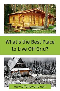 Several factors need to be considered if you're looking to move off grid. Every state, city, and county is different when it comes to ordinances and permits. Other than that, the basics of off grid living are the same and these are what you should focus on when looking for off grid property. #offgrid #offgridliving #livingoffgrid #offgridusa #sustainableliving Survival Life, Survival Skills, Log Homes, Tiny Homes, Earthship, Best Places To Live, Tiny House Living, Off The Grid