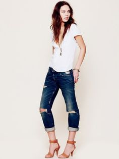 Just love this look so much. So simple and chic