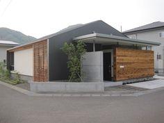 Concrete, wood, metal