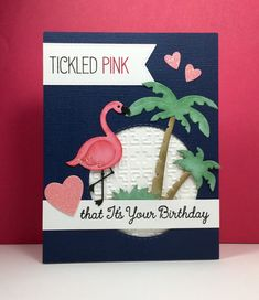 Tickled Pink: MFT, flamingo, critter sketch, by beesmom at splitcoast