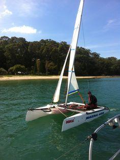 Nacra sailing!