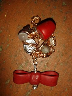 Doctor Who Inspired Pendant with Fez Bow-Tie and by CatsOnTheGreen