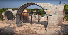 Construcción de domo Steve Areen