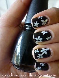 konad covered nails: konad