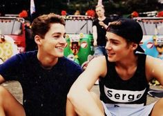 Jack and Finn Harries. <3 should I start a whole board for just the Rickshaw Run???